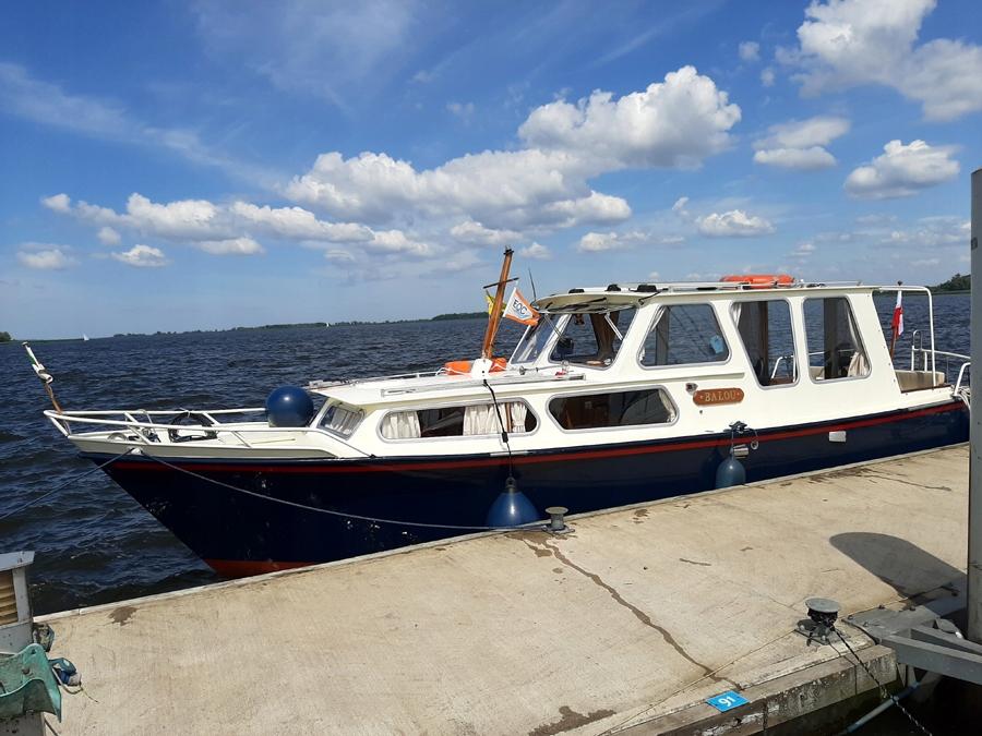 Piękny jacht motorowy Boarnkruiser 950,nowy silnik