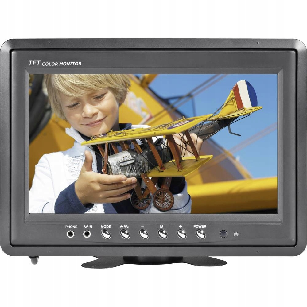 Monitor samochodowy LCD Renkforce T-900B, 9 cali