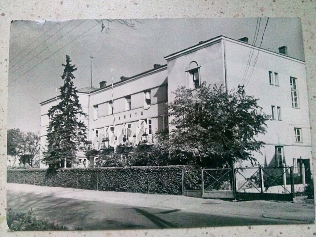 Busko Zdrój , Sanatorium,, Sanato''1968 rok.
