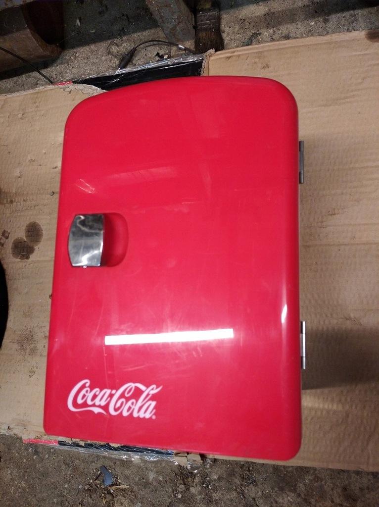Lodówka turystyczna Coca-cola