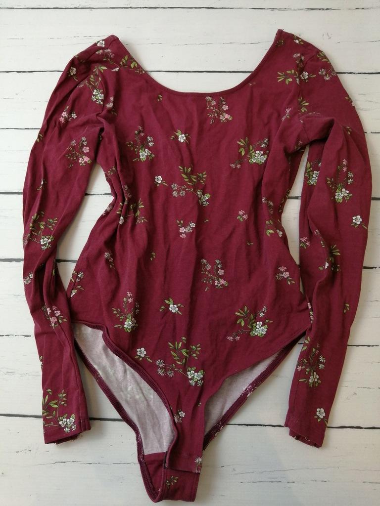 Reserved modne body bluzka w kwiaty S jak nowe