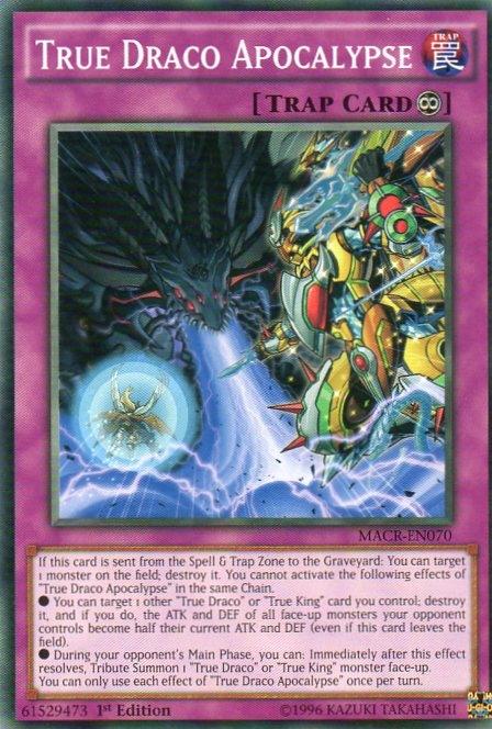 Karta YU-GI-OH - True Draco Apocalypse