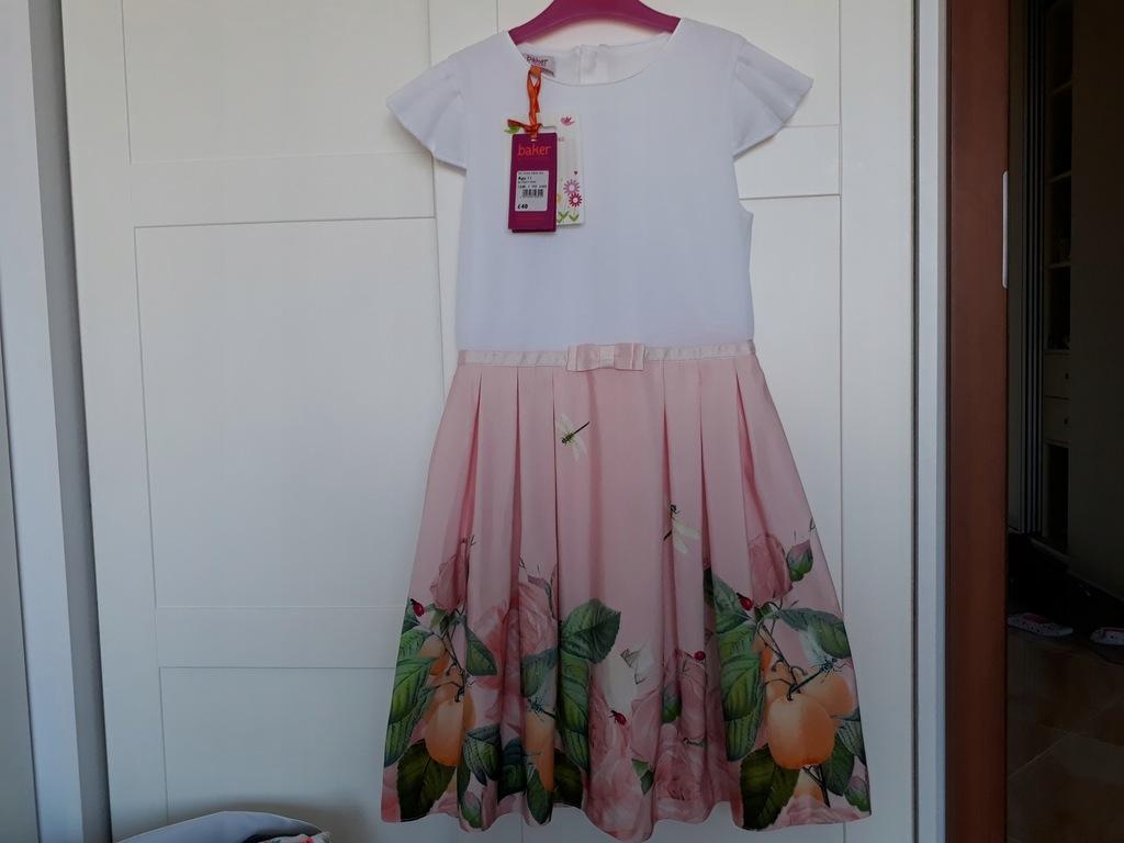 Ted Baker sukienka ważki 11-12 lat 146/152cm