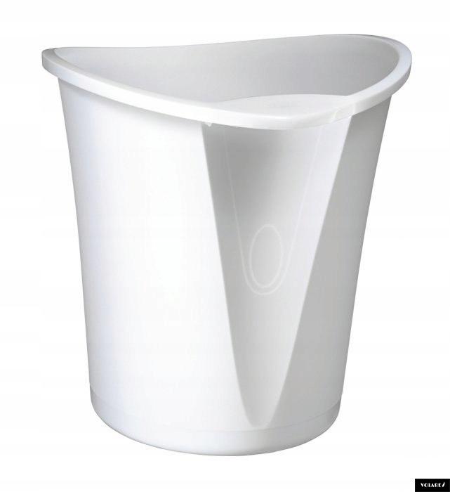 Kosz_na śmieci LEITZ Allura 18 litrów biały 520400