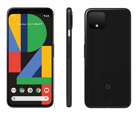 Smartfon Google Pixel 4 czarny 64 GB
