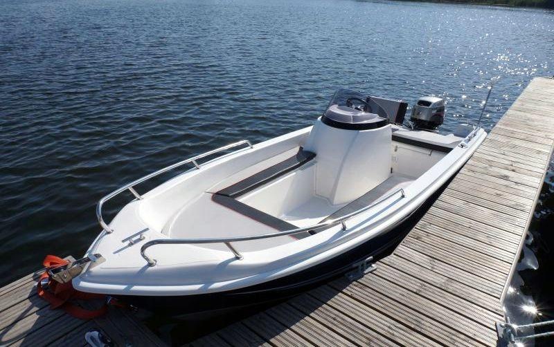 Łódź łódka wędkarska CLASSIC 470 Sport