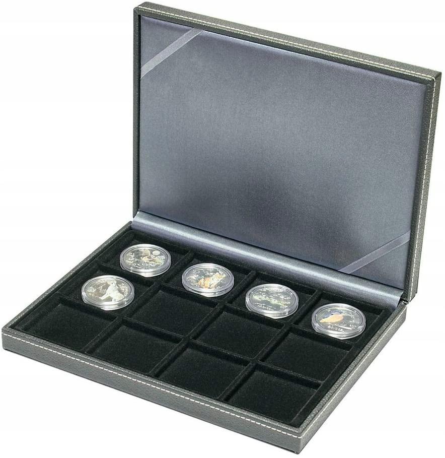 LINDNER Oryginalna kaseta na monety NERA XM