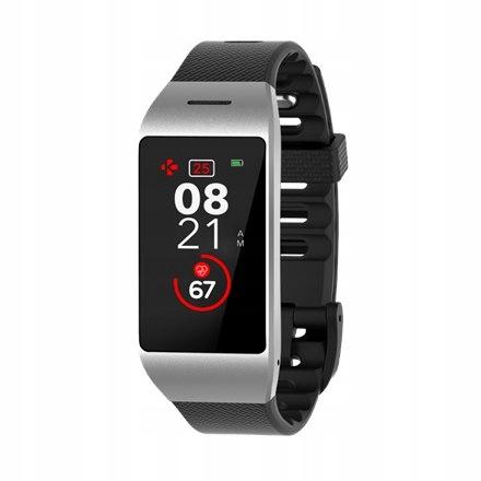 MyKronoz Smartwatch Zeneo Silver/ black, 220 mAh,