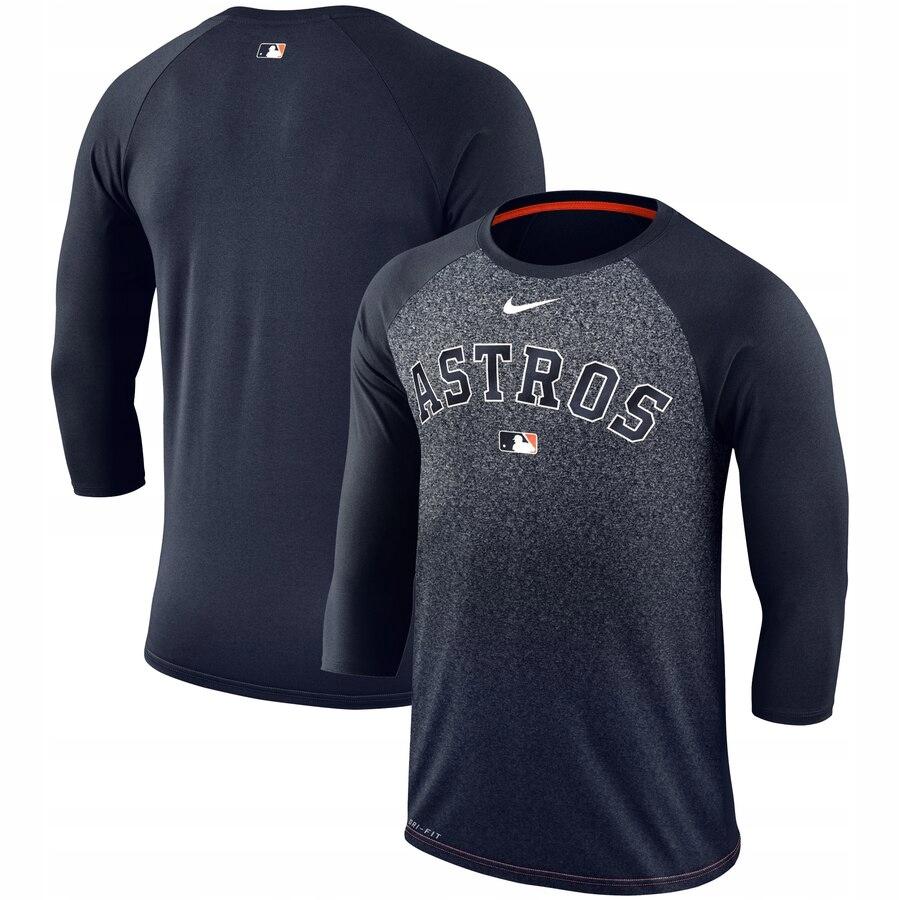 Koszulka MLB Huston Astros Nike rękaw 3/4 M