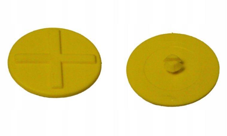 Oznaczenie kolorystyczne pokrywy przyłącza + żółty