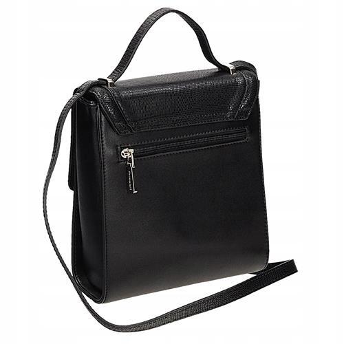 Czarna torebka listonoszka MONNARI BAG 4320