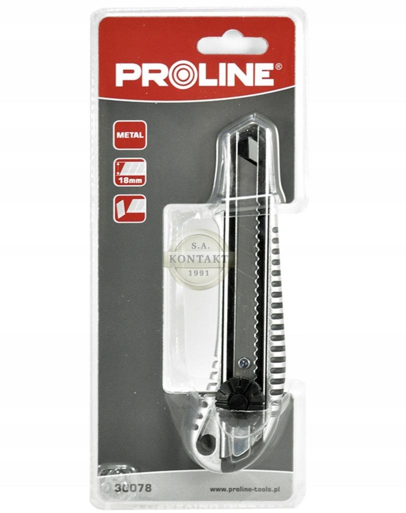 Nóż 18x170mm uchwyt metalowy PROLINE