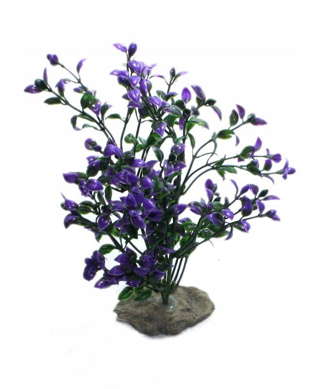 Roślinka SZTUCZNA do AKWARIUM Dekoracyjna B12 24cm