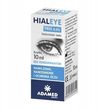 Hialeye free 0,4% krople do oczu nawilżające 10ml