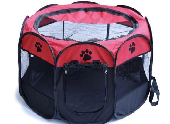 Przenośny Składany Namiot Kojec Dla psa kota 8264501822