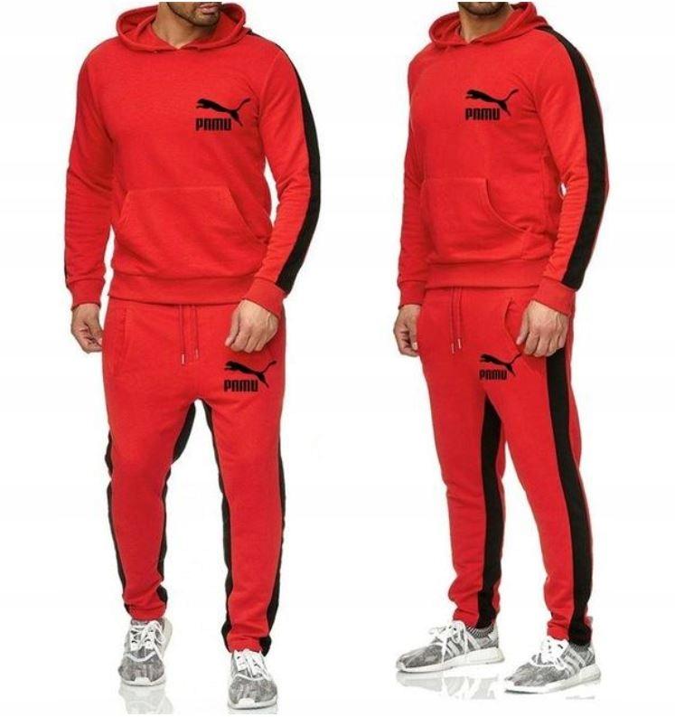 Zestaw Komplet Sportowy Bluza + Spodnie M