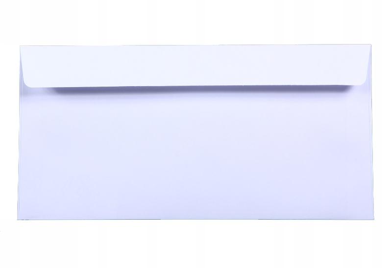 Koperta DL Amber 80g biała K18 10szt
