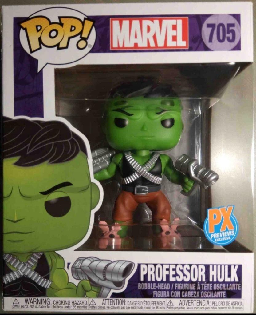 Funko PROFESSOR HULK Marvel 6 Cali Exclusive #705
