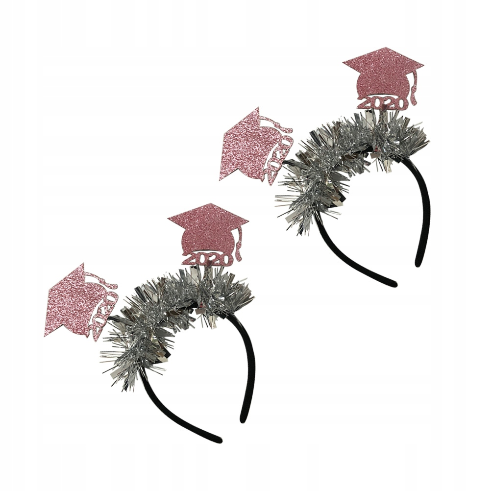 2szt Mini Design Opaska do włosów Włókn