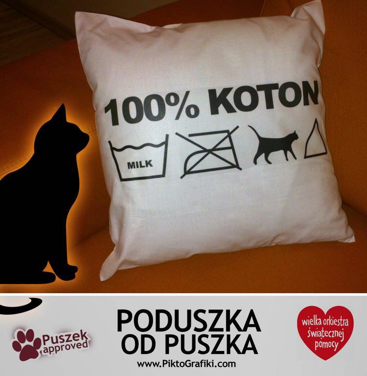 Poduszka Puszka