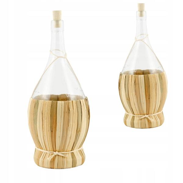 Ozdobna butelka szkło wysoka jakość 1 L na nalewki