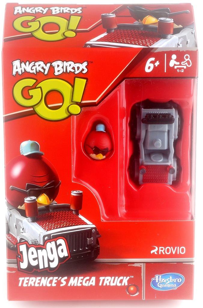Angry Birds Go Jenga A6430 Terence S Mega Truck 6832461221 Oficjalne Archiwum Allegro