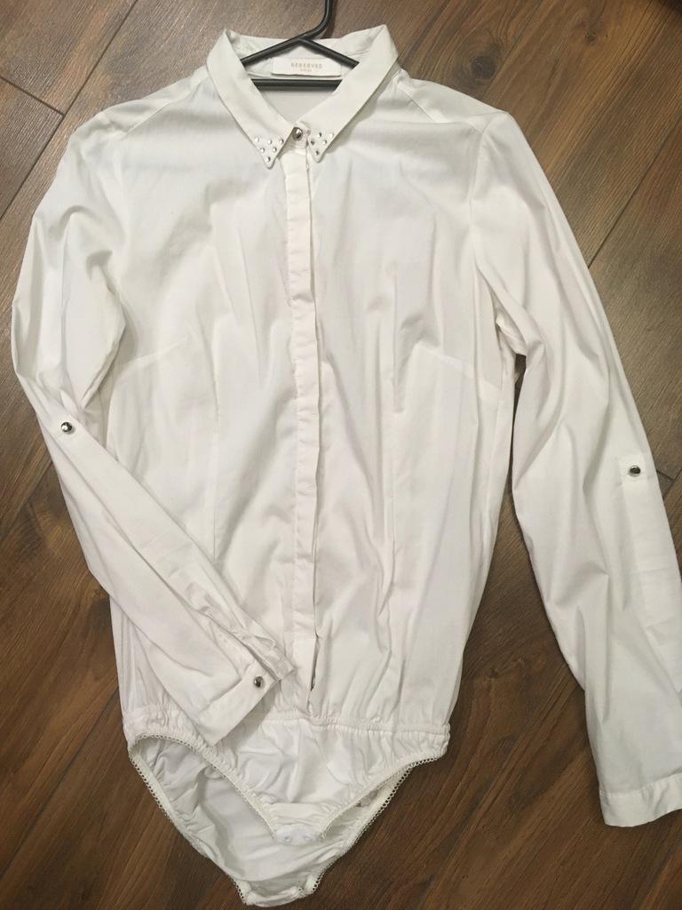 Bluzka body biała RESERVED rozmiar 36 Nowa