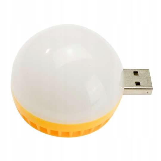 LAMPKA DO LAPTOPA POWERBANKU MINI ŻARÓWKA USB