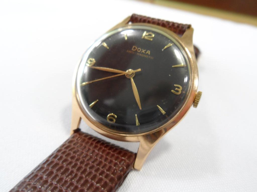 Złoty Zegarek DOXA
