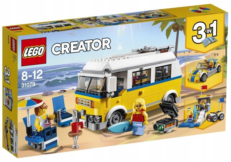 LEGO CREATOR Van Surferów 31079 3w1