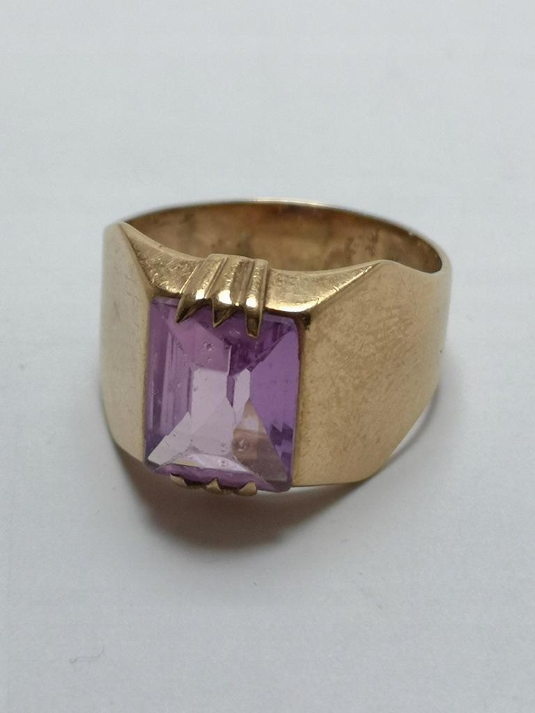 Złoty pierścionek p.585 5,23g r.16