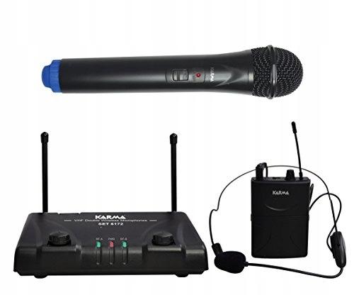 Karma Set 6172PL-B 103112 mikrofon bezprzewodowy