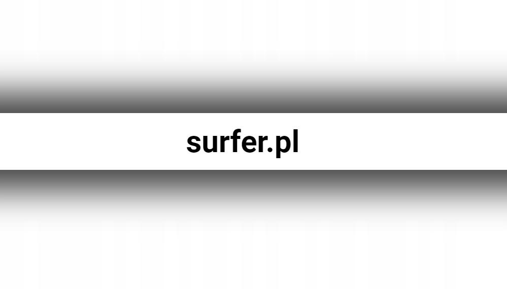 Domena surfer.pl
