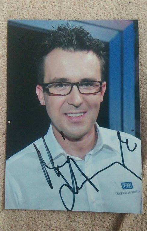 Maciej Kurzajewski - autograf!
