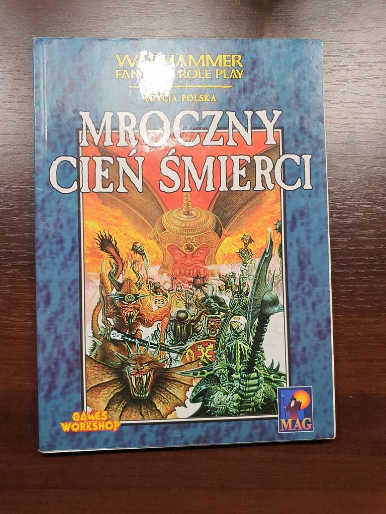 MROCZNY CIEŃ ŚMIERCI - Warhammer RPG - 1 edycja PL