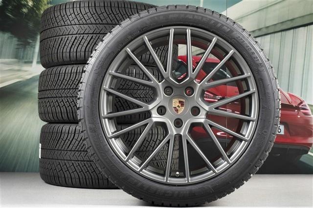 OR.Porsche Cayenne E3/9Y0 koła zimowe 21 RS Spyder