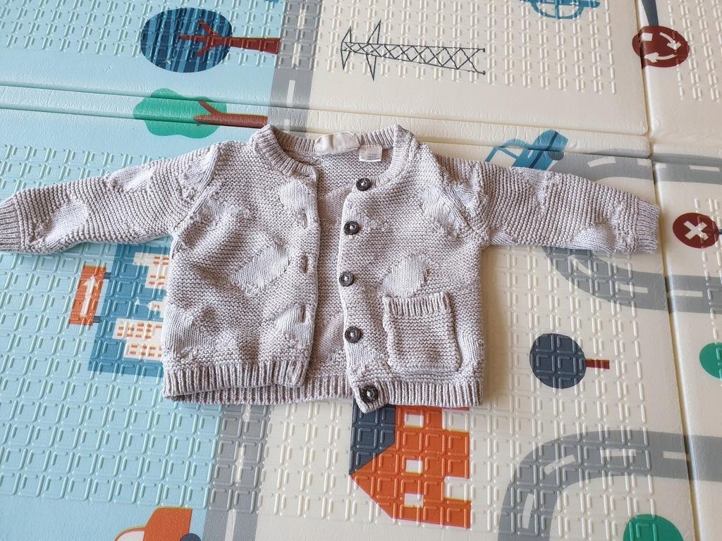Sweter rozpinany Lupilu 50/56