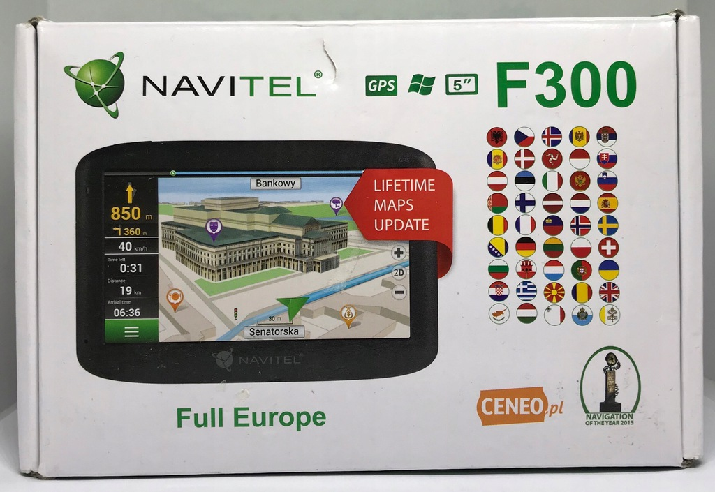 Nawigacja samochodowa Navitel F300 FV