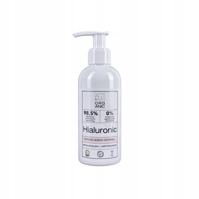 ACTIVE ORGANIC Płyn do higieny intymnej HIALURONIC