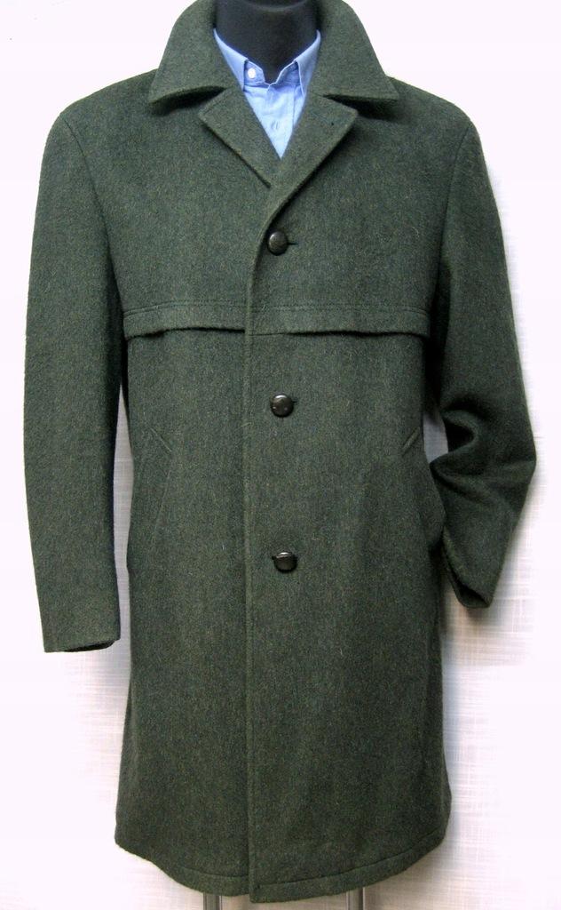 *Modell C&A* płaszcz stylowy vintage wełna XL