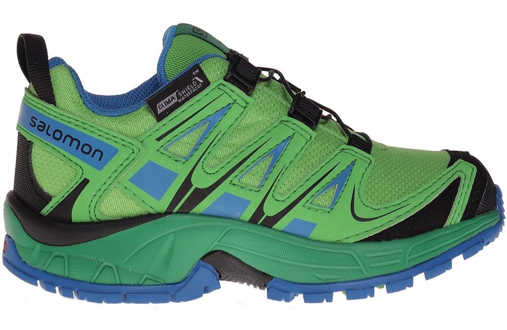 Salomon XA Pro 3D Buty Dzieci zielonyniebieski 33 Buty turystyczne