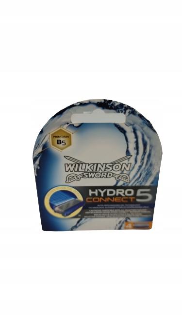 4x Wkłady Nożyki WILKINSON Hydro 5 Connect