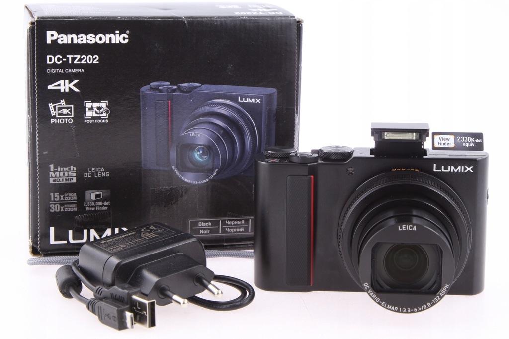 Panasonic Lumix DMC-TZ202 15x Leica Zoom, TZ200