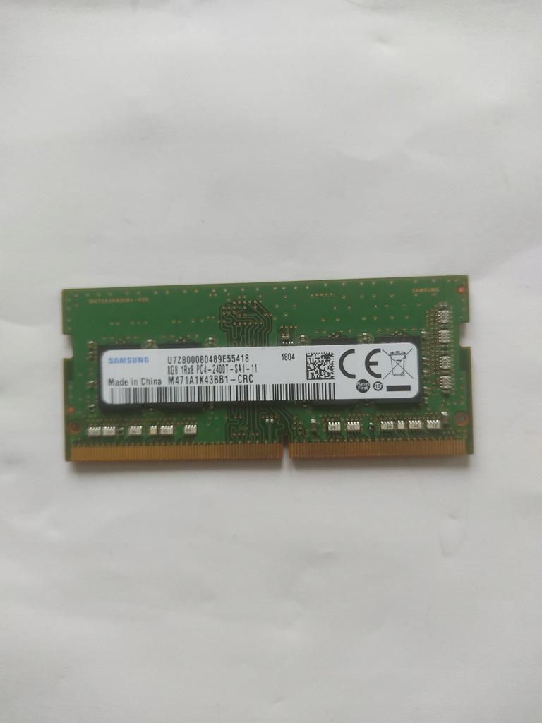 Pamięć ram Samsung 8Gb 1Rx8 PC4-2400T-SA1-11