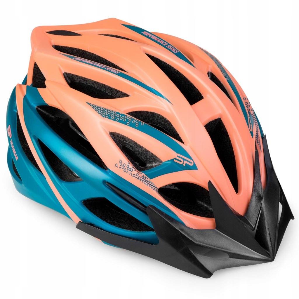 Spokey FEMME - Kask rowerowy poliwęglan 58-61 cm