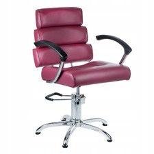 BEAUTY SYSTEM Fotel fryzjerski FIORE wrzosowy BR-3