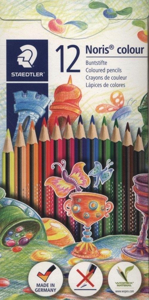Kredki 12 kolorów trójkatne Noris Colour Steadtler