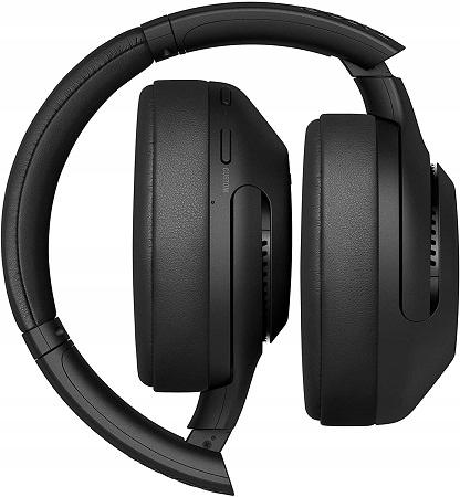 Słuchawki bezprzewodowe Sony WH-XB900N Czarne