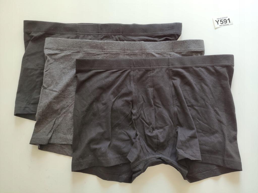 BOKSERKI majtki H&M 42 XL 3-pak Y591