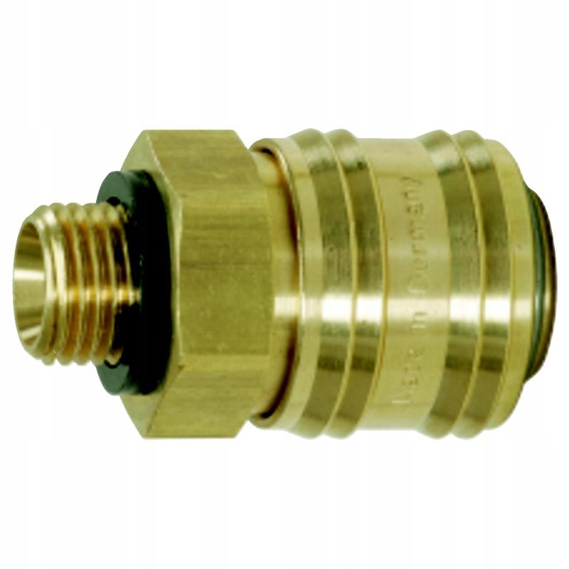 Mosiężne złącze z gwintem zewnętrznym,G1/2 AG KS T